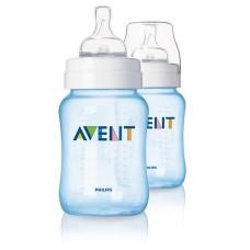 PHILIPS AVENT Bottle feeding pp (9oz/260ml) x 2 (Blue)