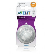 PHILIPS AVENT Teat Natural ( 6 mths +) fast flow teat (OUT OF STOCK)