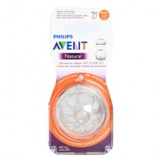 PHILIPS AVENT Teat Natural ( 6 mths +) Thickness Flow teat