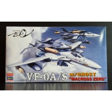 HASEGAWA Fortress macross 1/72 VF-0A/S With Ghost Macross Zero Plastic Model