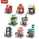 HSANHE Mini street (6401, 6402, 6403, 6404, 6405, 6406, 6407, 6408) set