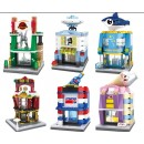 HSANHE Mini street (6428, 6429, 6430, 6431, 6432, 6433) set