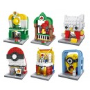 HSANHE Mini street (6434-1, 6434-2, 6434-3, 6434-4, 6434-5, 6434-6) set