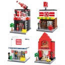 HSANHE Mini street (6412,6413,6414,6415) set