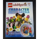 DK Lego Book - Minifigures (Character Encyclopedia) Bundle with 1 minifigure