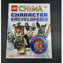 DK Lego Book - Legends Of Chima (Character Encyclopedia) Bundle with 1 minifigure