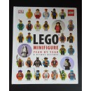 DK Lego Book - Minifigure (Year By Year A Visual History) Bundle with 3 minifigures