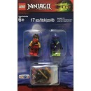 LEGO Minifigure 5003085 ninjago kai & morro battle pack 6+(17pcs)