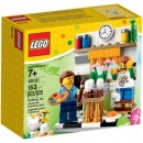 LEGO Seasonal 40121 painting easter eggs holiday set vignette exclusive 7+(153pcs)