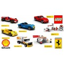 LEGO Shell v-power 2015 ferrari full set + display box