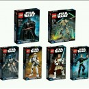 LEGO Star wars full set 75107-75112